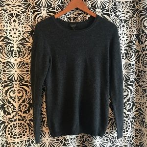 Cashmere Charter club sweater size medium grey